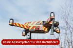 Die Drohne als hilfsmittel für den Dachdecker